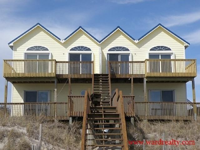 Oceanfront Exterior - Reflection North - North Topsail Beach - rentals