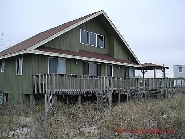 Oceanfront Exterior - Sea Hawk - Surf City - rentals
