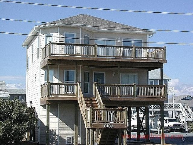 Sea-Duction Exterior - Sea-Duction - Topsail Beach - rentals