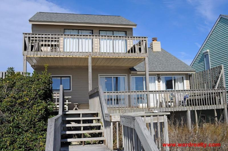 Oceanfront Exterior - Seas The Dream - Surf City - rentals