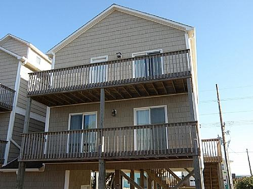 Backside of Property - Shore Leave - Surf City - rentals