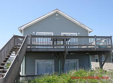 Oceanfront Exterior - Silk Purse - Topsail Beach - rentals