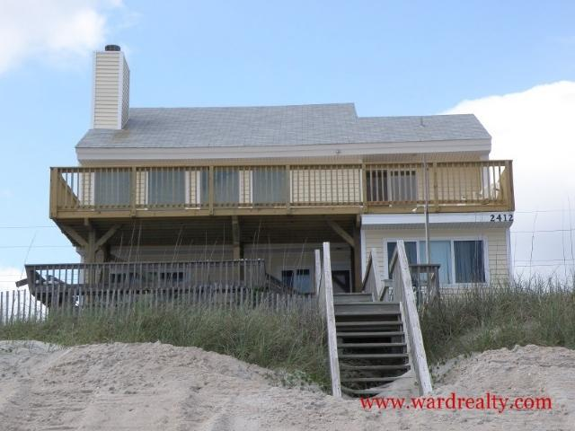 Oceanfront Exterior - Spindrift - Surf City - rentals