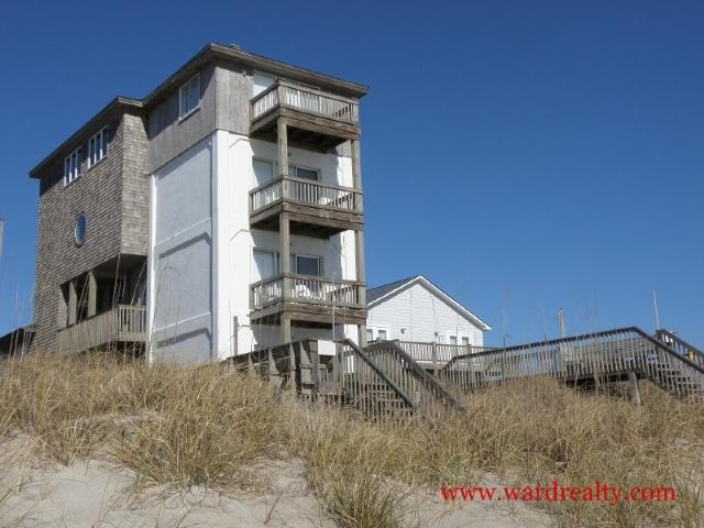 Oceanfront Exterior - Tower 5 Cabana - Surf City - rentals