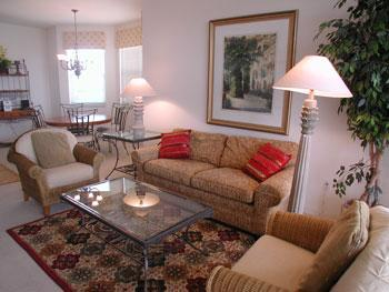 Living Room - The Regatta 3-501 - Naples - rentals