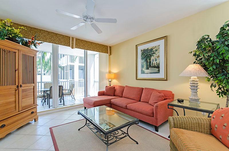 Living Room - The Regatta 5-205 - Naples - rentals