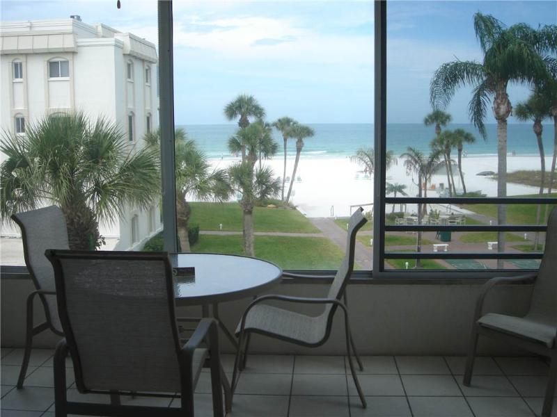 View the Gulf in all its splendor from this 2BR - 13 South - Image 1 - Siesta Key - rentals