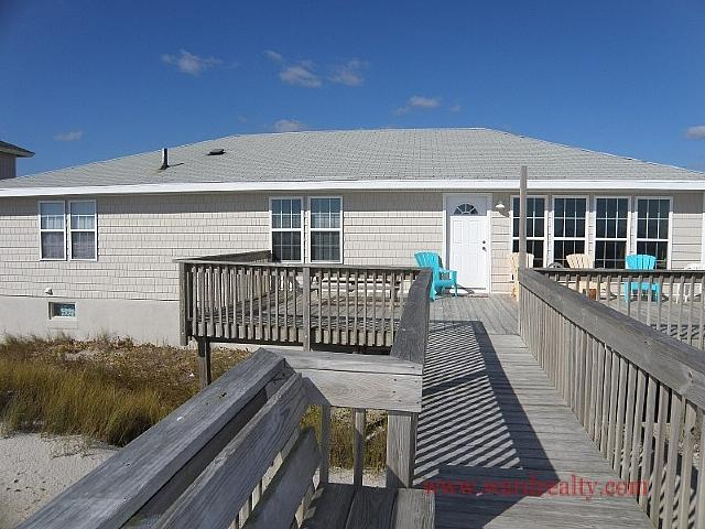 Oceanfront Exterior - ALL'SWELL - North Topsail Beach - rentals