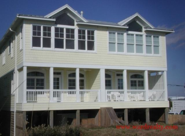 Oceanfront Exterior - Epiphany - Topsail Beach - rentals
