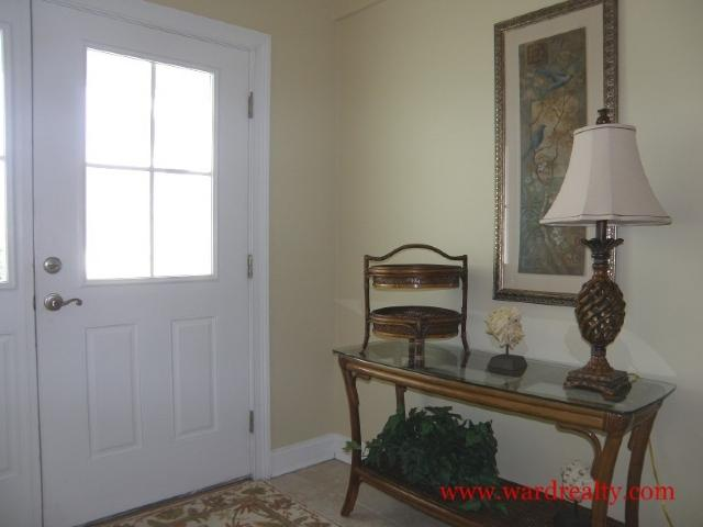 Foyer - Point in Tide - Topsail Beach - rentals