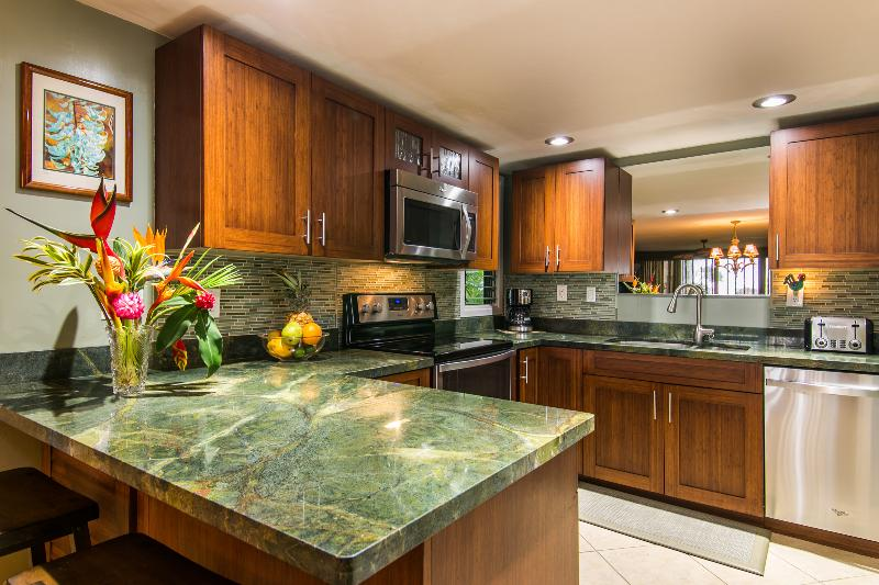 new top of the line kitchen remodel - Newly remodeled Ocean View Condo 4222 - Princeville - rentals