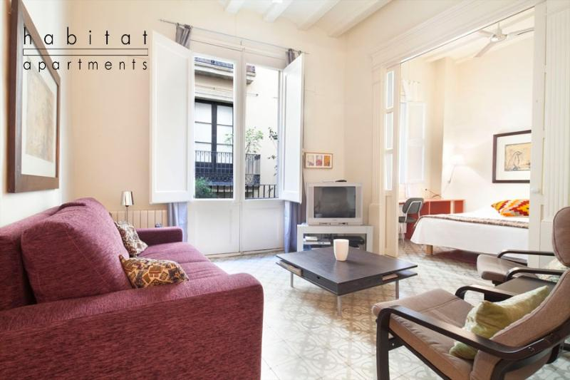 Banys apartment, for 6 people next to the Ramblas - Image 1 - Barcelona - rentals