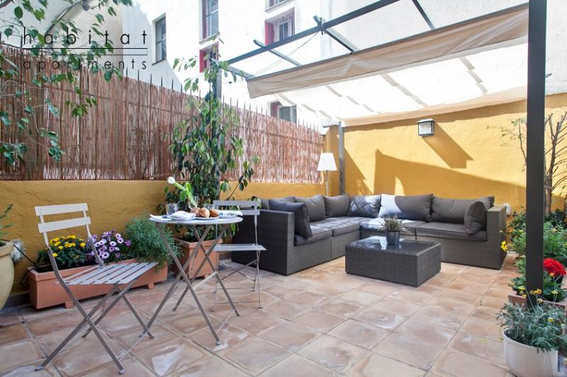 Ferran 2, Large Apartment with terrace in old town - Image 1 - Barcelona - rentals
