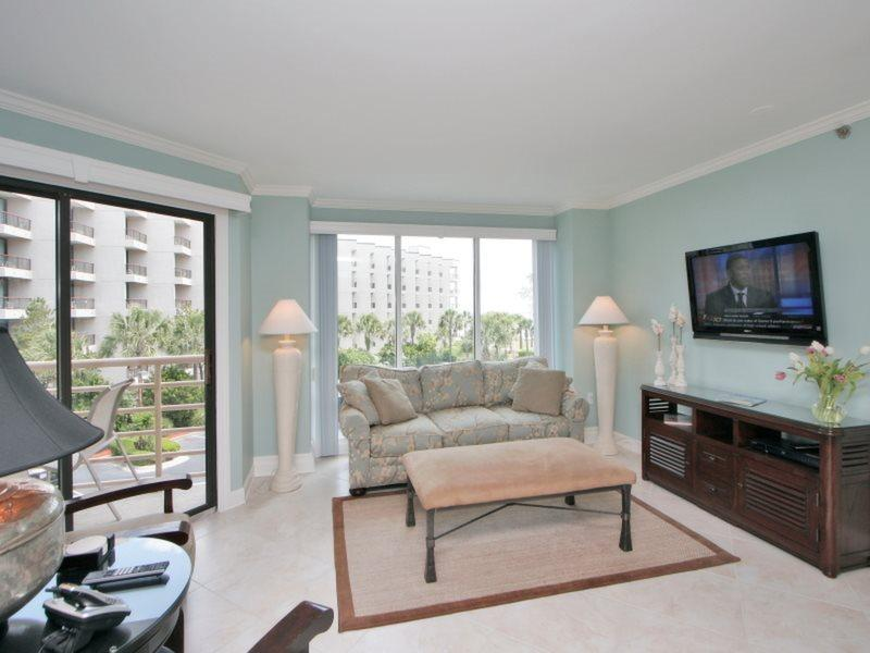 Living Room at 1210 Villamare  - 1210 Villamare - Palmetto Dunes - rentals