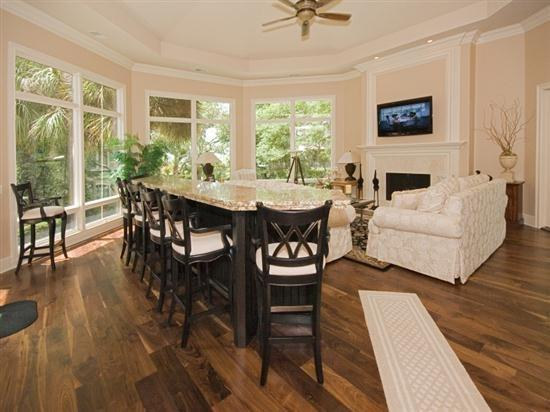 Great Room with Flat Screen at 20 Sandhill Crane - 20 Sandhill Crane - Sea Pines - rentals
