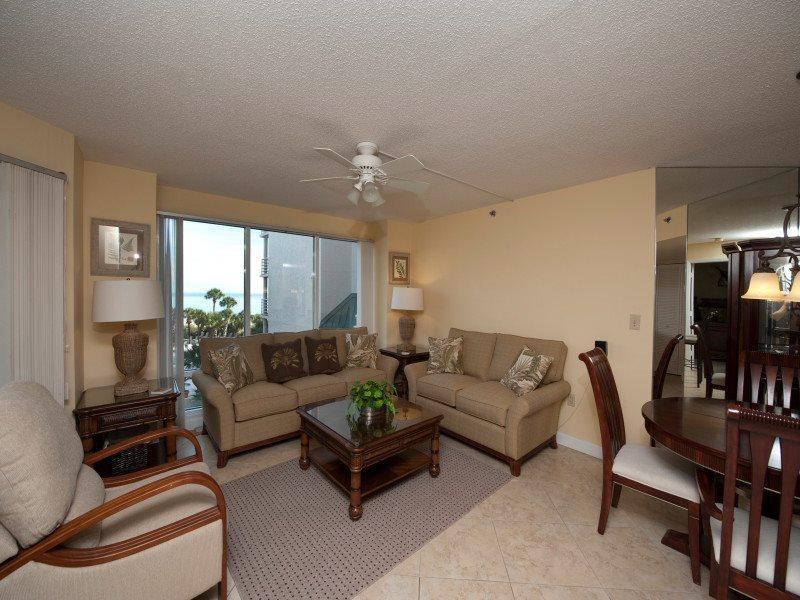 Living Room at 3323 Villamare - 3323 Villamare - Palmetto Dunes - rentals