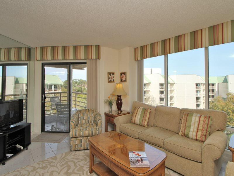 Living Room at 3521 Villamare - 3521 Villamare - Palmetto Dunes - rentals