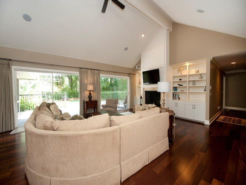 Living Room at 5 Battery Road - 5 Battery Road - Sea Pines - rentals