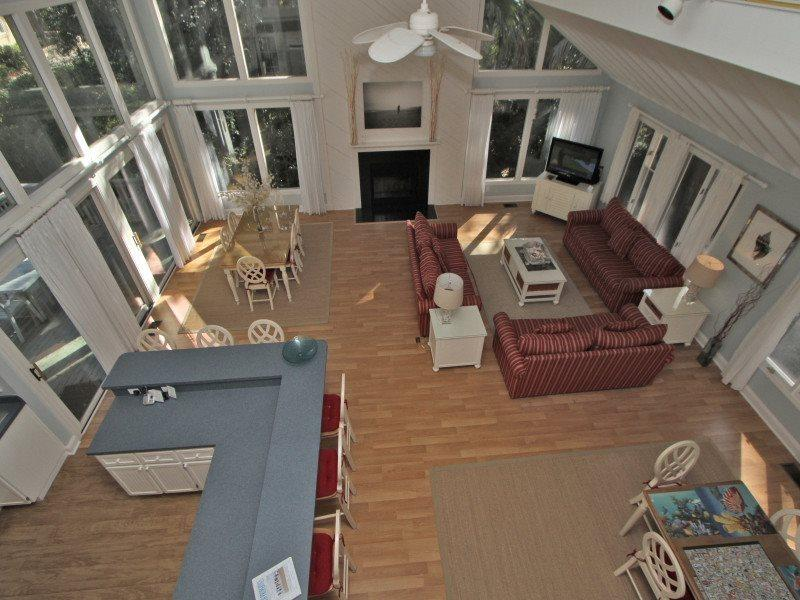 Open Floor Plan at 7 Seaside Sparrow - 7 Seaside Sparrow - Sea Pines - rentals