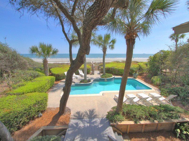 View from 8 East Beach Lagoon - 8 East Beach Lagoon - Sea Pines - rentals