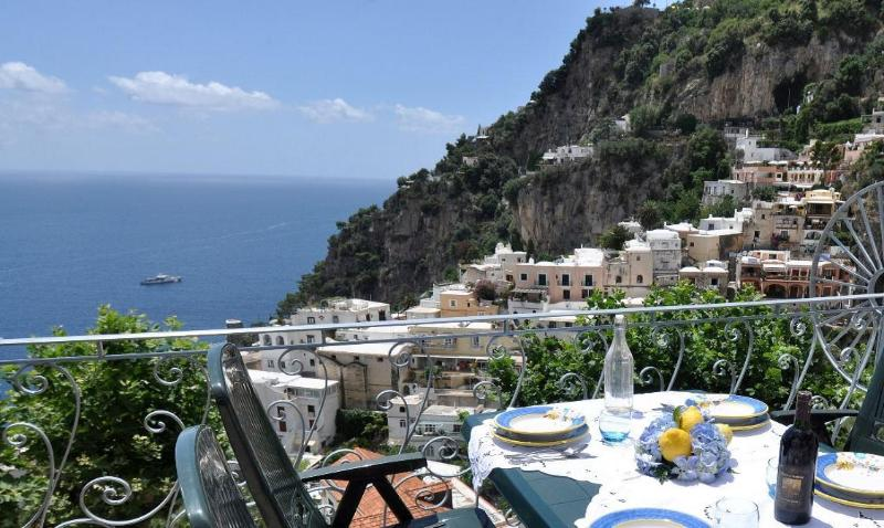 Terrace view, II° Level - Maristella - In the heart of that picturesque area - Positano - rentals