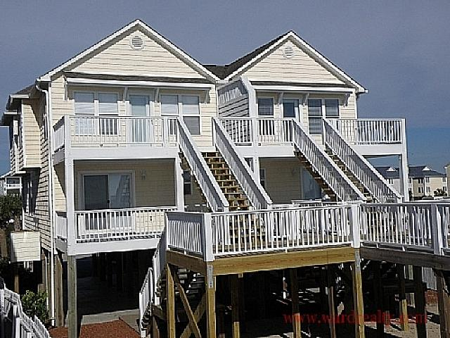 Oceanfront Exterior Too - 2 Britt Buoys - Surf City - rentals