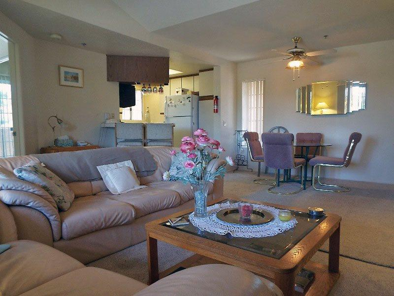 Open Living Room   - Espirit Two Bedroom #120 - Cathedral City - rentals
