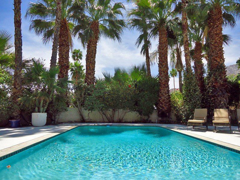 Backyard Pool  Home w/Mountains Beyond  - Old Las Palmas Private Estate - Palm Springs - rentals