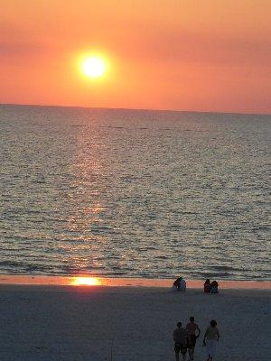 Sunset View from Balcony - Som 314 - Somerset - Marco Island - rentals