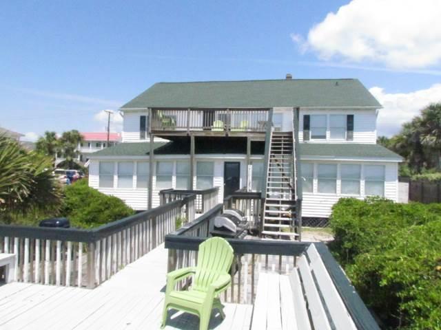 "1208 Palmetto Blvd - ""Ocean Villa #1"" - Image 1 - Edisto Beach - rentals"