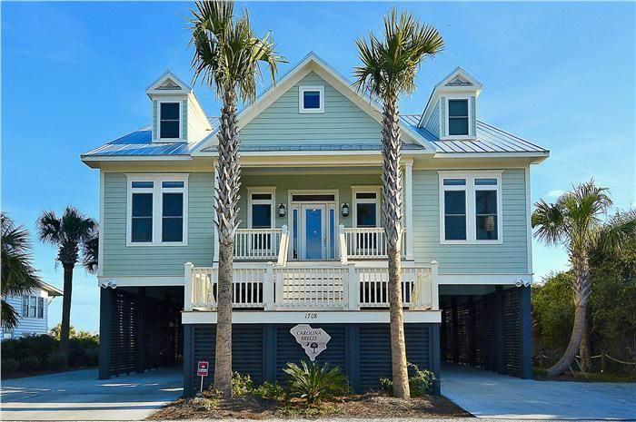 "1708 Palmetto Blvd - ""Carolina Breeze"" - Image 1 - Edisto Beach - rentals"