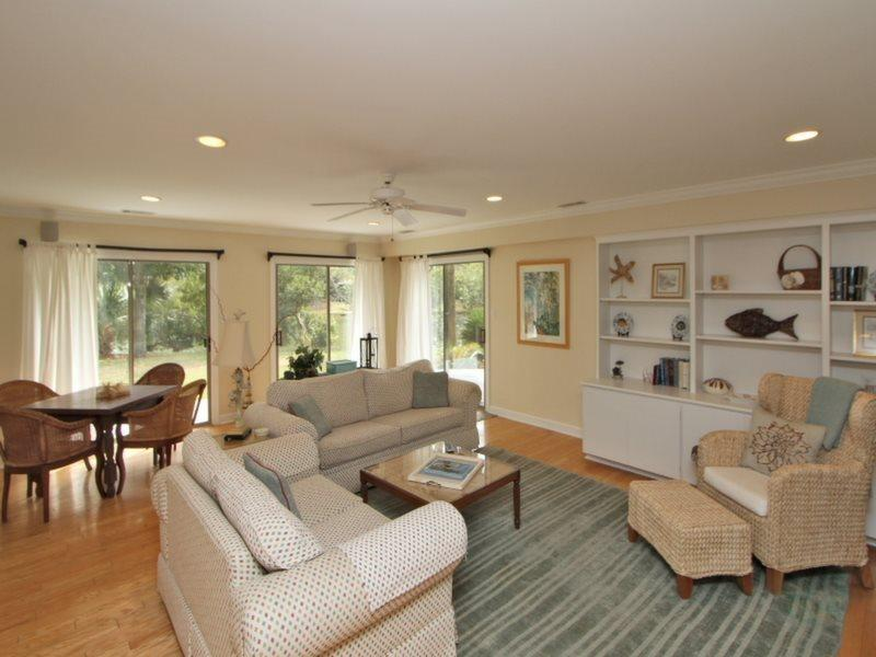 Open Living Room at 63 South Sea Pines Drive - 63 South Sea Pines Drive - Sea Pines - rentals