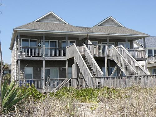Oceanfront Exterior - Carolina Glory - Surf City - rentals