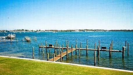 Direct Bayview from Screened lanai - Pelican Cove 12 - Bradenton Beach - rentals