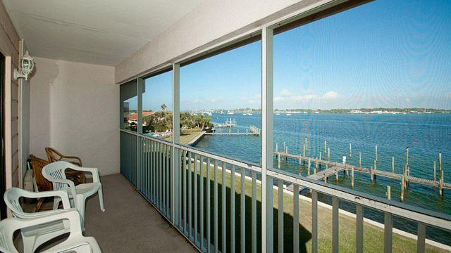 Balcony View - Pelican Cove 16 - Bradenton Beach - rentals