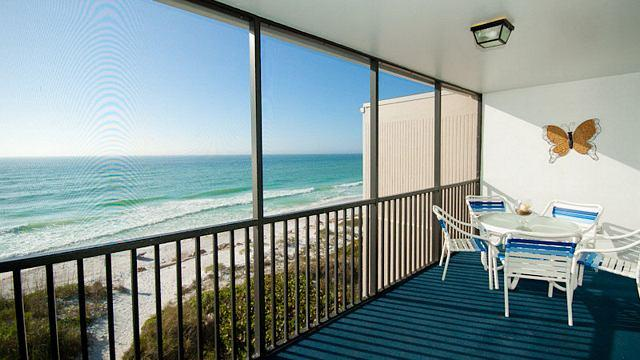 Balcony - Sunset Terrace 203 - Bradenton Beach - rentals