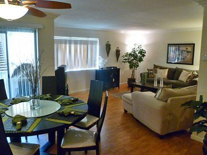 Dining Room Looking to Living Room - Catalina Grove Two Bedroom #119 - Palm Springs - rentals