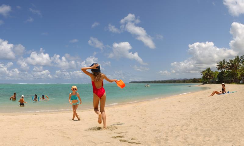 Great villa, great beach for kids. - 5-star beach villa, Authentic Mauritius Nice Pool. - Souillac - rentals