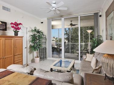 Living Room - The Regatta 3-304 - Naples - rentals