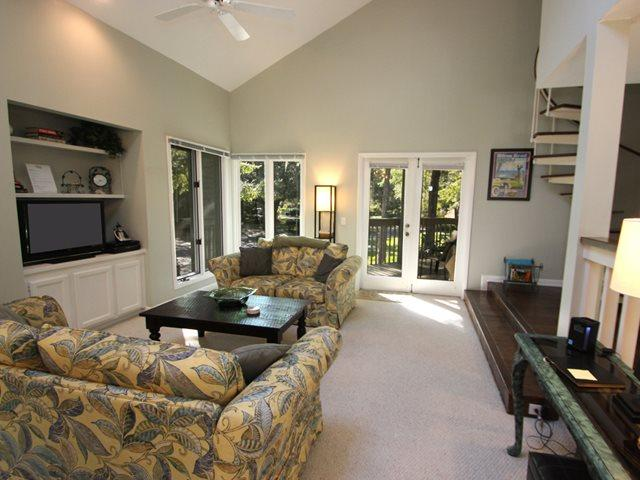 Living area - St. Andrews Common, 1659 - Hilton Head - rentals
