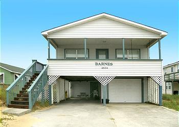 KD2504- Barnes;  3 BDRM SEMI-O/F HOME W/ REC ROOM! - Image 1 - Kill Devil Hills - rentals