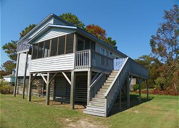 CH103- BEACH RETREAT; A QUIET CANALFRONT GETAWAY! - Image 1 - Kill Devil Hills - rentals
