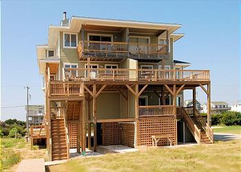 Exterior of Byrd's Nest - SN9615- Byrd's Nest; AN OCEANFRONT HAVEN! - Nags Head - rentals