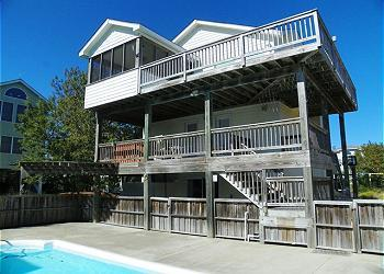 OS746- Beach Dreams; Beautiful Oceanside home! - Image 1 - Corolla - rentals