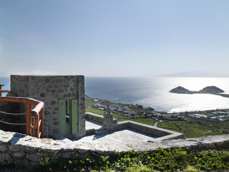 Charming Mykonos villa with stunning sea views - Image 1 - Mykonos - rentals