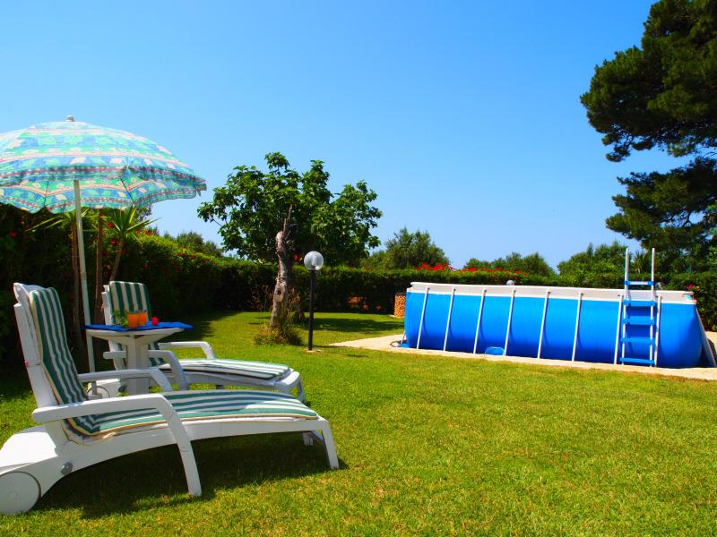 private garden and pool - House with Private Pool - 6/7 sleeps- Wi-Fi Access - San Vito lo Capo - rentals