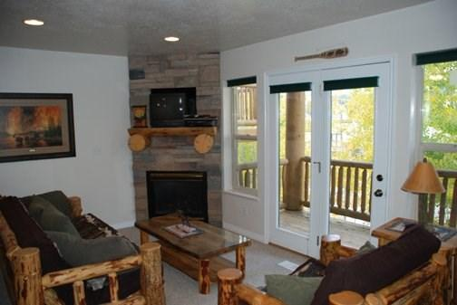 Moose Hollow Condo Living Area - Your Familys Vacation Destination is awaiting you at Moose Hollow and Wolf Creek Resort - Eden - rentals