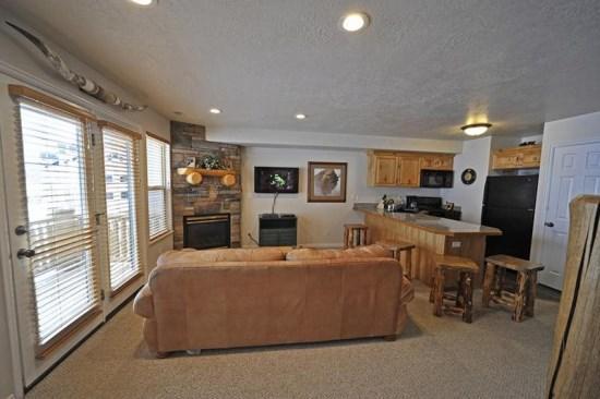 Moose Hollow Condo at Wolf Creek Utah Resort- Snowbasin and Powder Mountain - Image 1 - Eden - rentals