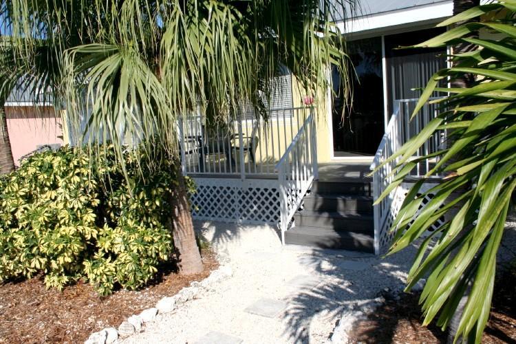 Backyard / porch - Reef Madness, Unit # 79 - Key Colony Beach - rentals