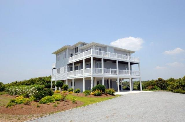 3659 Island Drive - Island Drive 3659 Oceanview! | Elevator, Internet, Fireplace, Game Equipment - North Topsail Beach - rentals